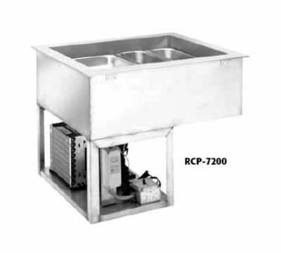 "Wells RCP-7600 88"" Drop-In Refrigerator w/ (6) Pan Capacity, Cold Wall Cooled, 115v"