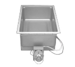 Wells SS-206ETD Food Warmer, Drain, Square Corners, Thermostatic, 1-Pan, 208/240/1