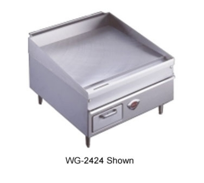 Wells WG-3036G NG 36-in Griddle w/ .75-in Steel Plate & Thermostatic Controls 24-in Deep NG Restaurant Supply