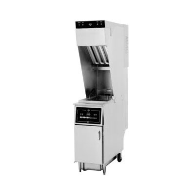 Wells WVAE-55F Electric Fryer - (1) 55-lb Vat, Floor Mode...