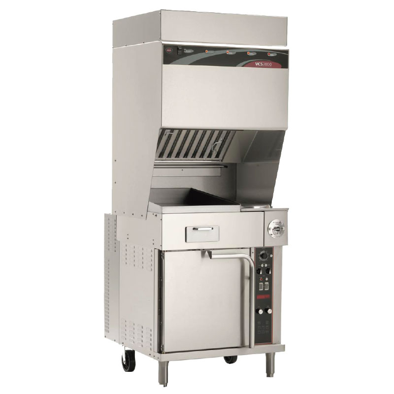 "Wells WVO-2HFG 42"" Electric Range w/ Griddle & (2) French Plates, 208v/3ph"