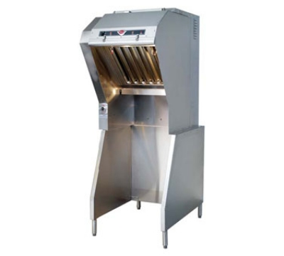 Wells WVU-24 24-in Ventless Hood w/ 4-Stage Filtration