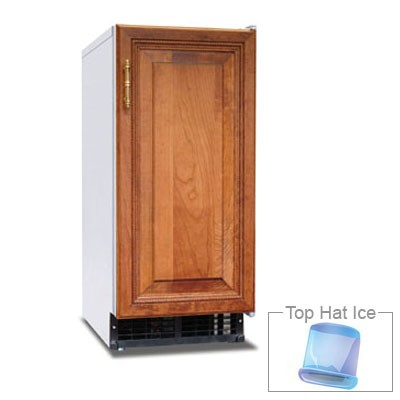 Hoshizaki AM-50BAE-DS Undercounter Top Hat Ice Maker - 55-lbs/day, Air Cooled, 115v