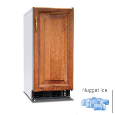 Hoshizaki C-101BAH-DS Undercounter Nugget Ice Maker - 92-lbs/day, Air Cooled, 115v