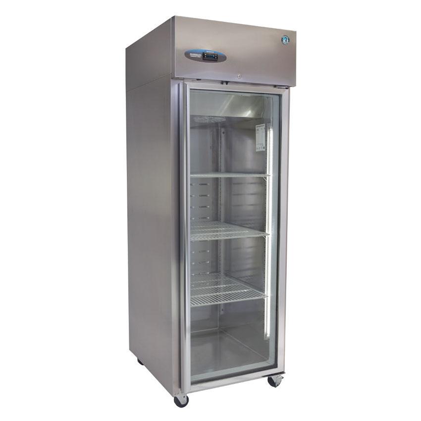 "Hoshizaki CF1S-FGE 27.5"" Single Section Reach-In Freezer, (1) Glass Door, 115v"