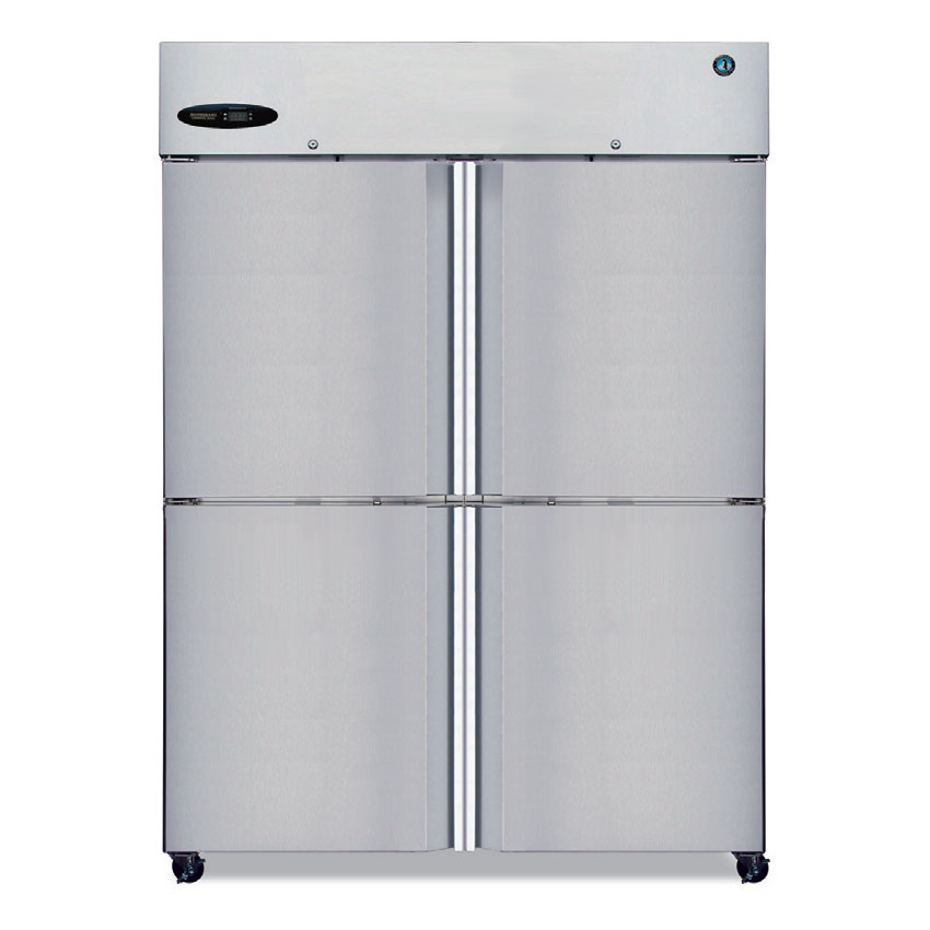 "Hoshizaki CF2B-HS 55"" Two Section Reach-In Freezer, (4) Solid Doors, 115v"