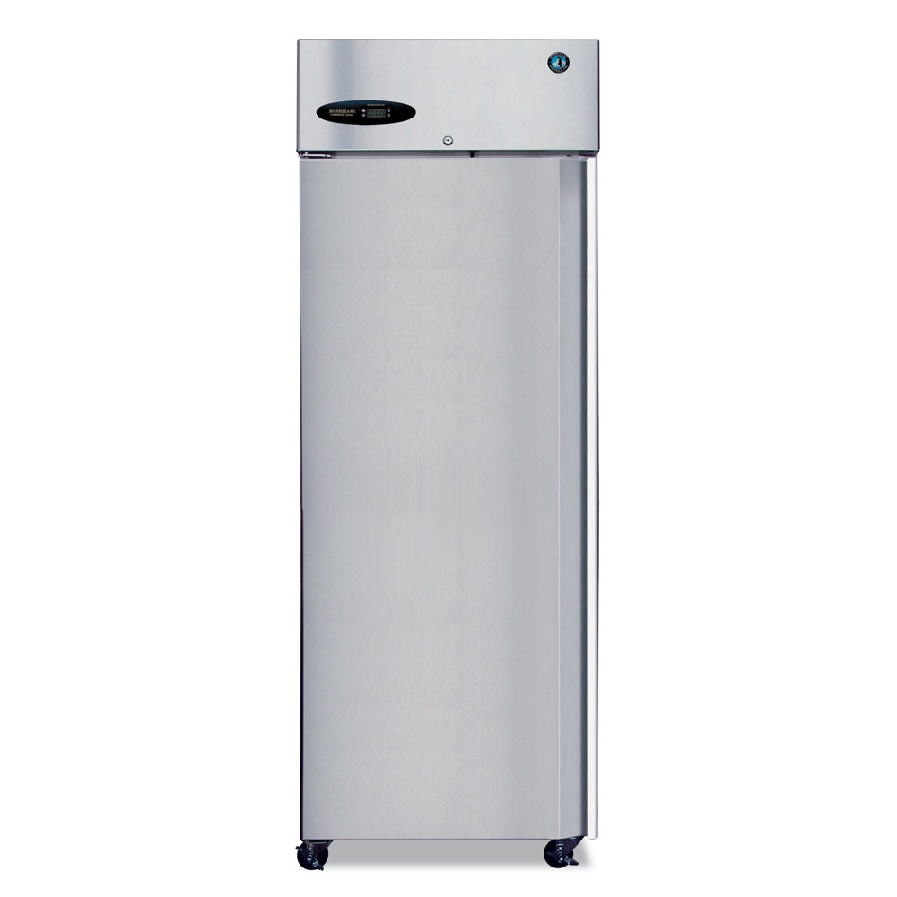 "Hoshizaki CR1S-FSL 27.5"" Single Section Reach-In Refrigerator, (1) Solid Door, 115v"