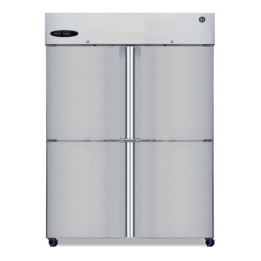 "Hoshizaki CR2B-HS 83"" Two Section Reach-In Refrigerator, (4) Solid Door, 115v"