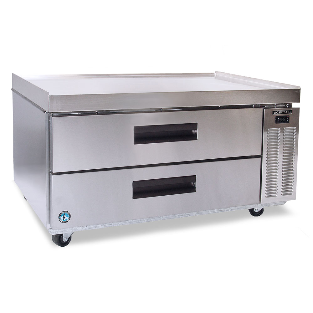 Hoshizaki CRES49 Refrigerated Equipment Stand w/ (2) Drawers, LED Temperature Controll, 115v