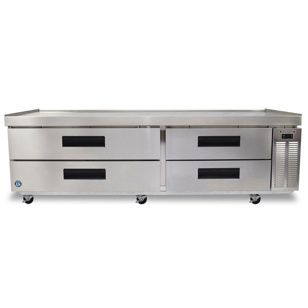 "Hoshizaki CRES85 85"" Chef Base w/ (4) Drawers - 115v"