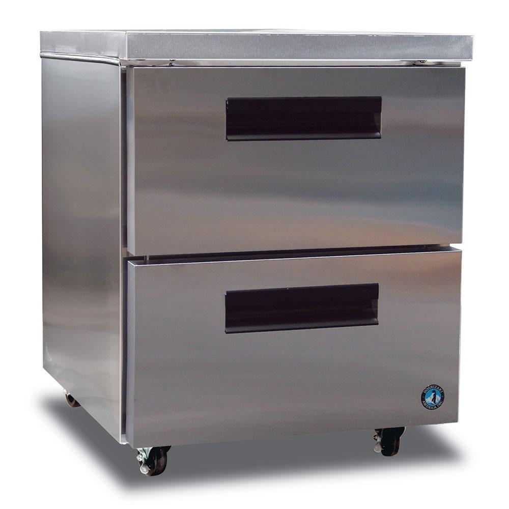 Hoshizaki CRMF27-D 7.2-cu ft Undercounter Freezer w/ (1) Section & (2) Drawers, 115v
