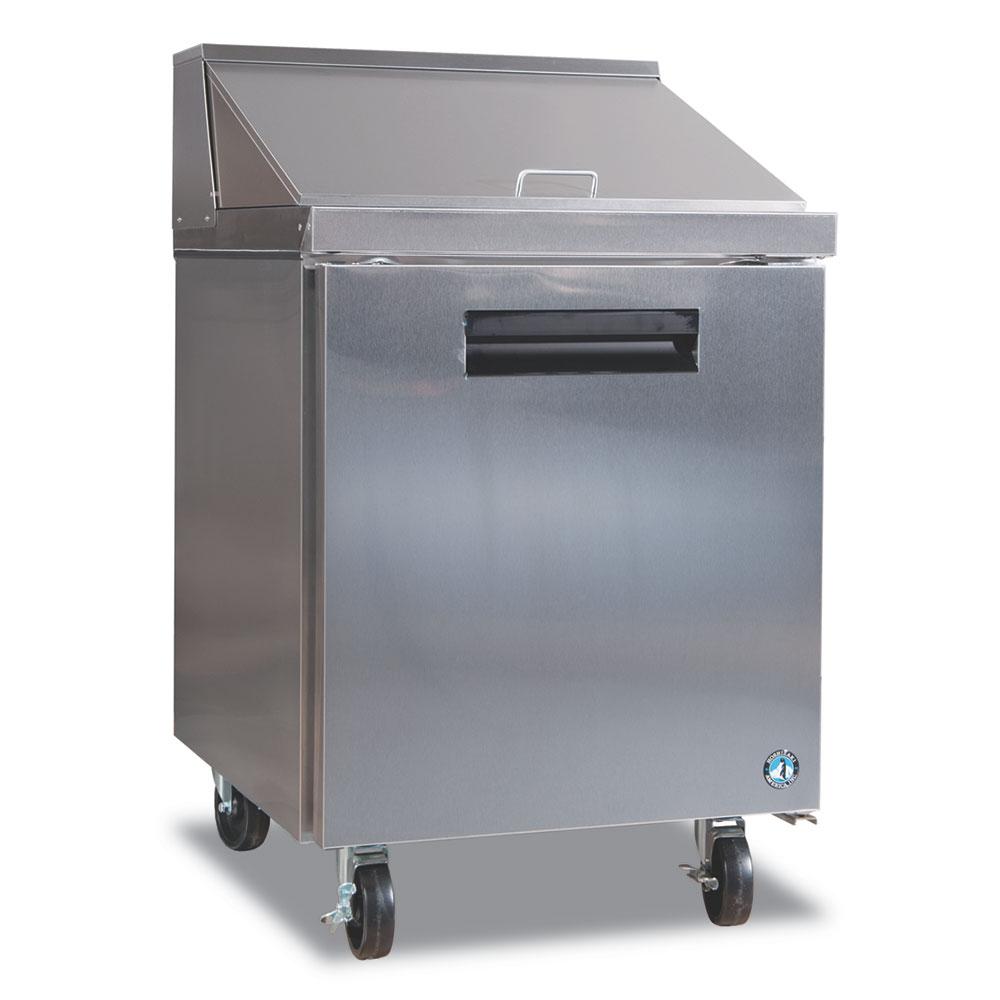 "Hoshizaki CRMR27-12M 27"" Sandwich/Salad Prep Table w/ Refrigerated Base, 115v"