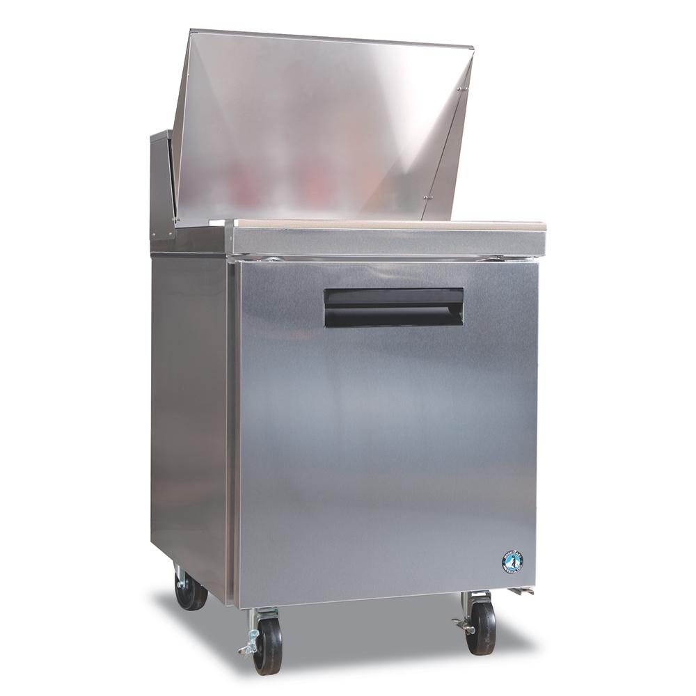 "Hoshizaki CRMR27-8 27"" Sandwich/Salad Prep Table w/ Refrigerated Base, 115v"