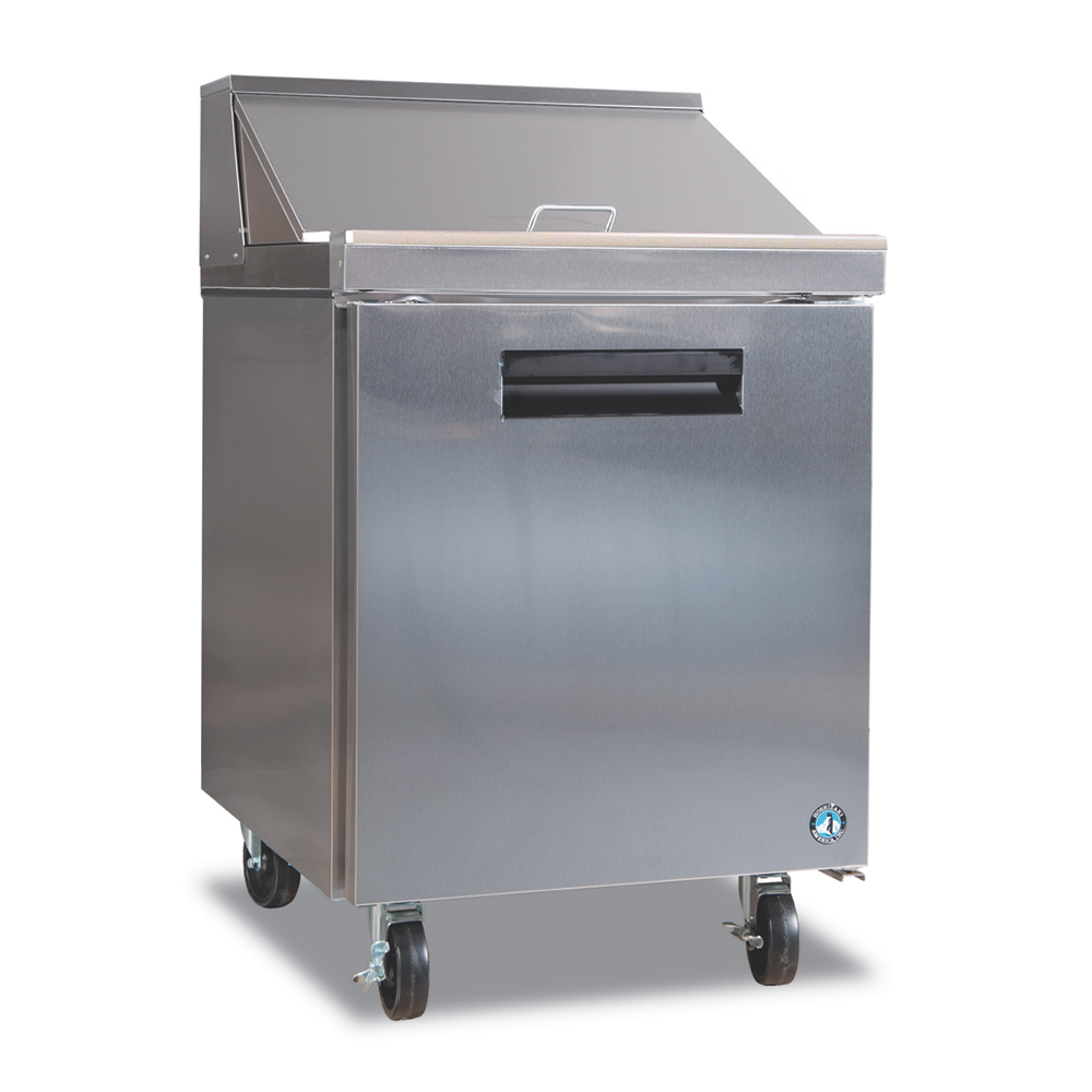 "Hoshizaki CRMR27-8 27"" Sandwich/Salad Prep Table w/ Refrigerated Base, 115v"