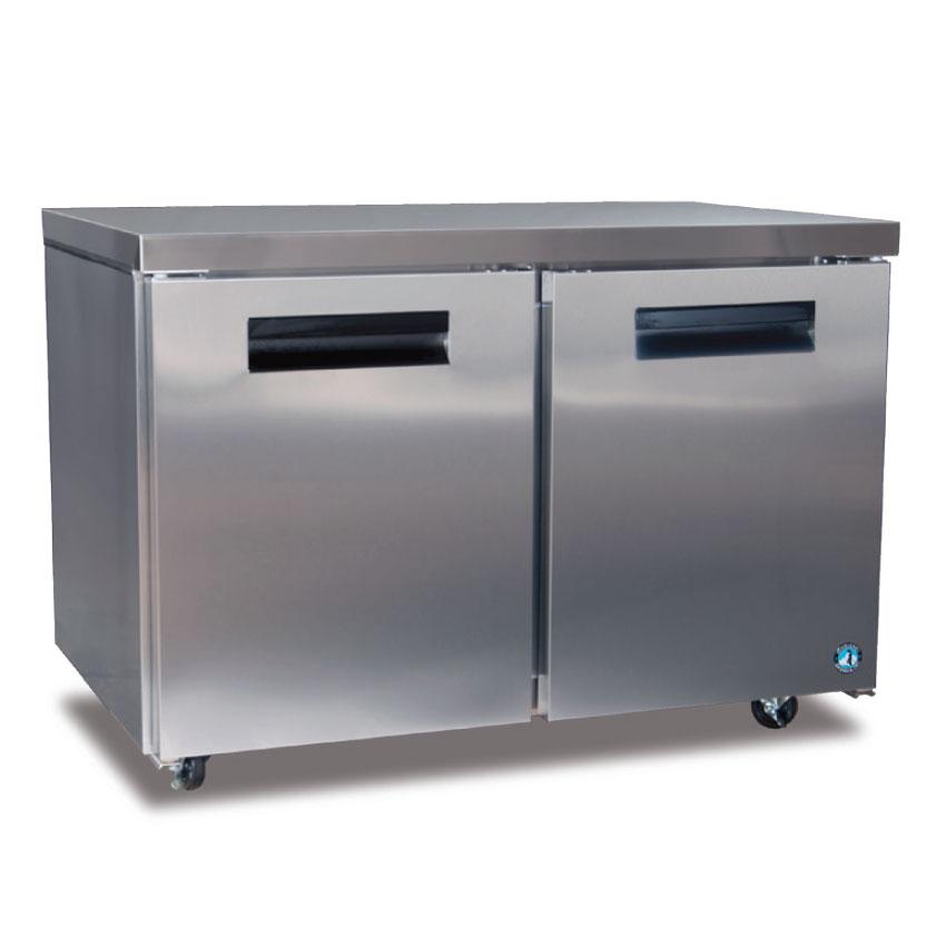 Hoshizaki CRMR48 13.66-cu ft Undercounter Refrigerator w/ (2) Sections & (2) Doors, 115v
