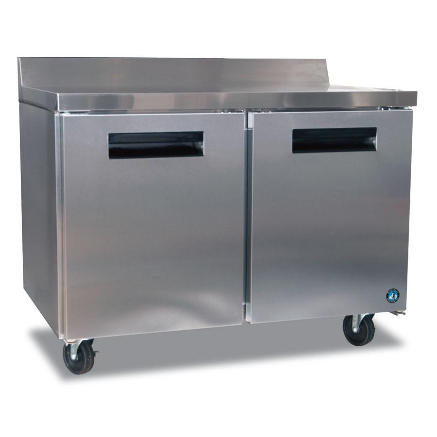"Hoshizaki CRMR48-W 48"" Worktop Refrigerator w/ (2) Sections, 115v"