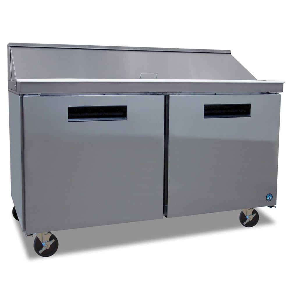 "Hoshizaki CRMR60-16 60"" Sandwich/Salad Prep Table w/ Refrigerated Base, 115v"