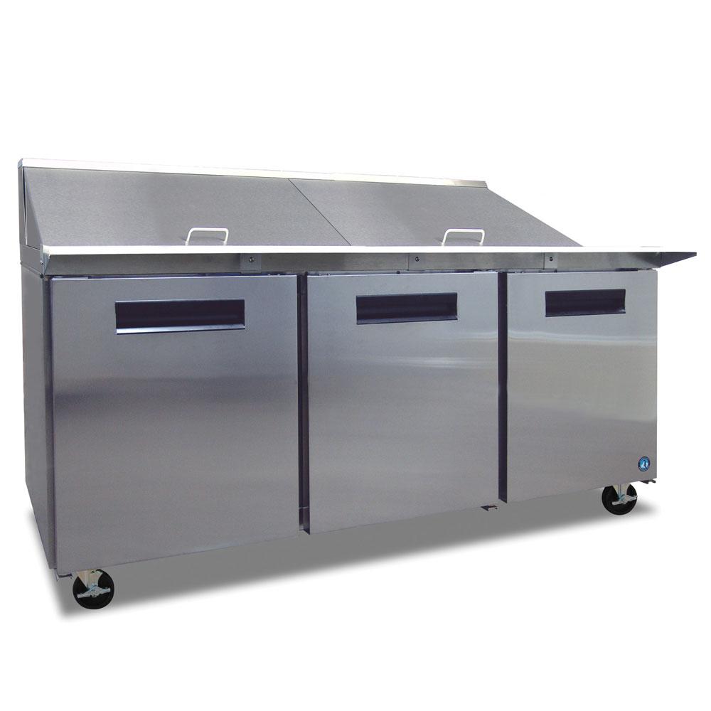 "Hoshizaki CRMR72-24M 72"" Sandwich/Salad Prep Table w/ Refrigerated Base, 115v"