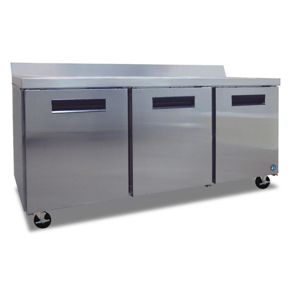 Hoshizaki CRMR72-W01 72 Worktop Refrigerator w/ (3) Secti...