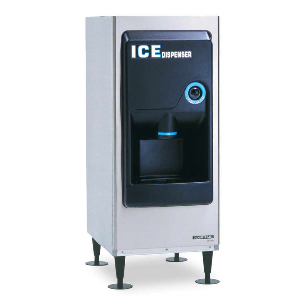 Hoshizaki DB-130H Countertop Cube Ice Dispenser w/ 130-lb Storage - Cup Fill, 115v