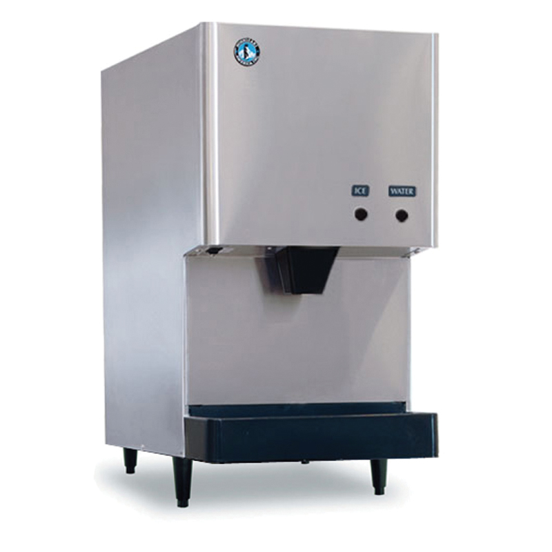 Countertop Ice Maker That Makes Crushed Ice : Hoshizaki DCM-270BAH Countertop Cube Ice Dispenser w/ 10-lb Storage ...