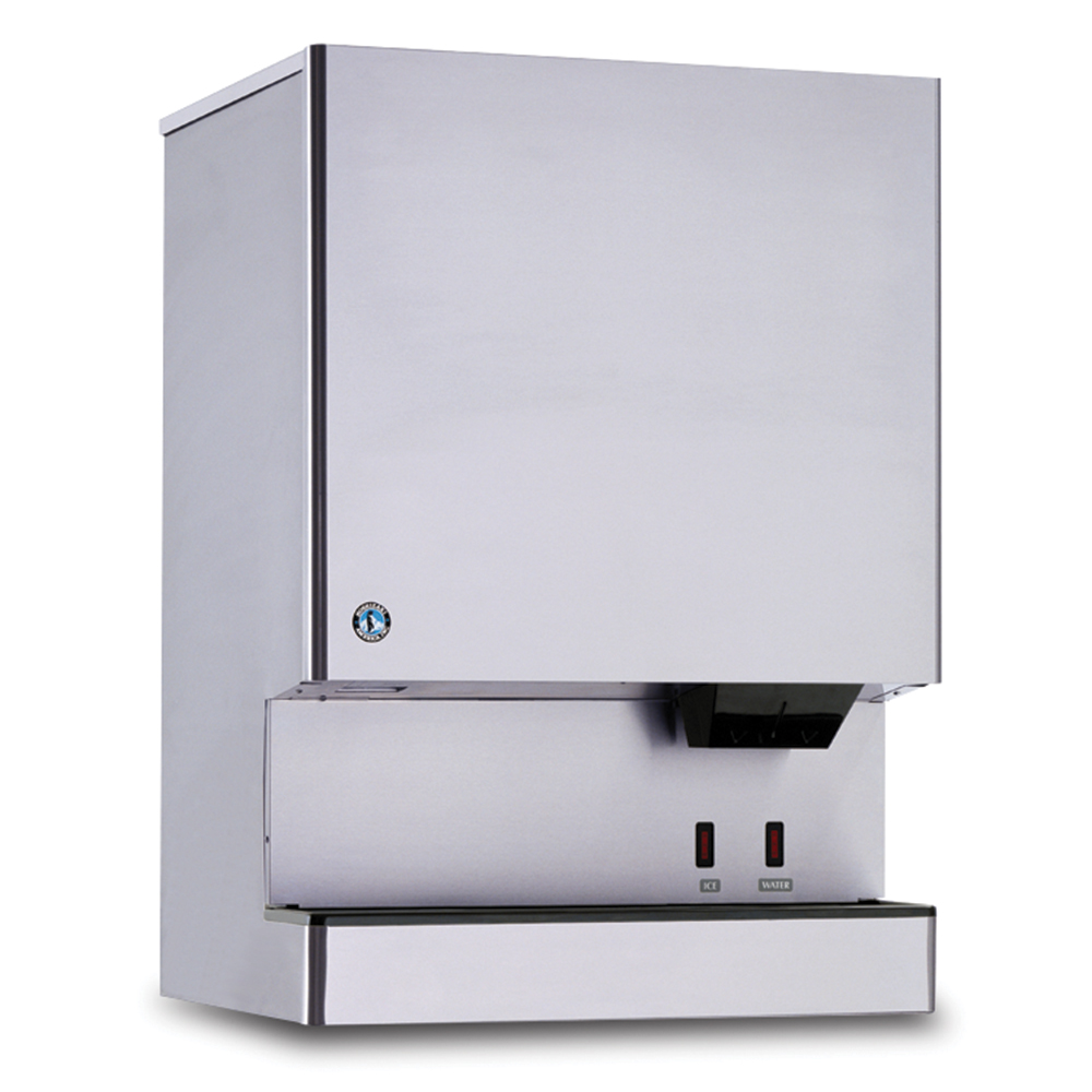 Hoshizaki DCM-751BWH-OS Countertop Cube Ice Dispenser w/ 95-lb Storage - Bucket Fill, 115v
