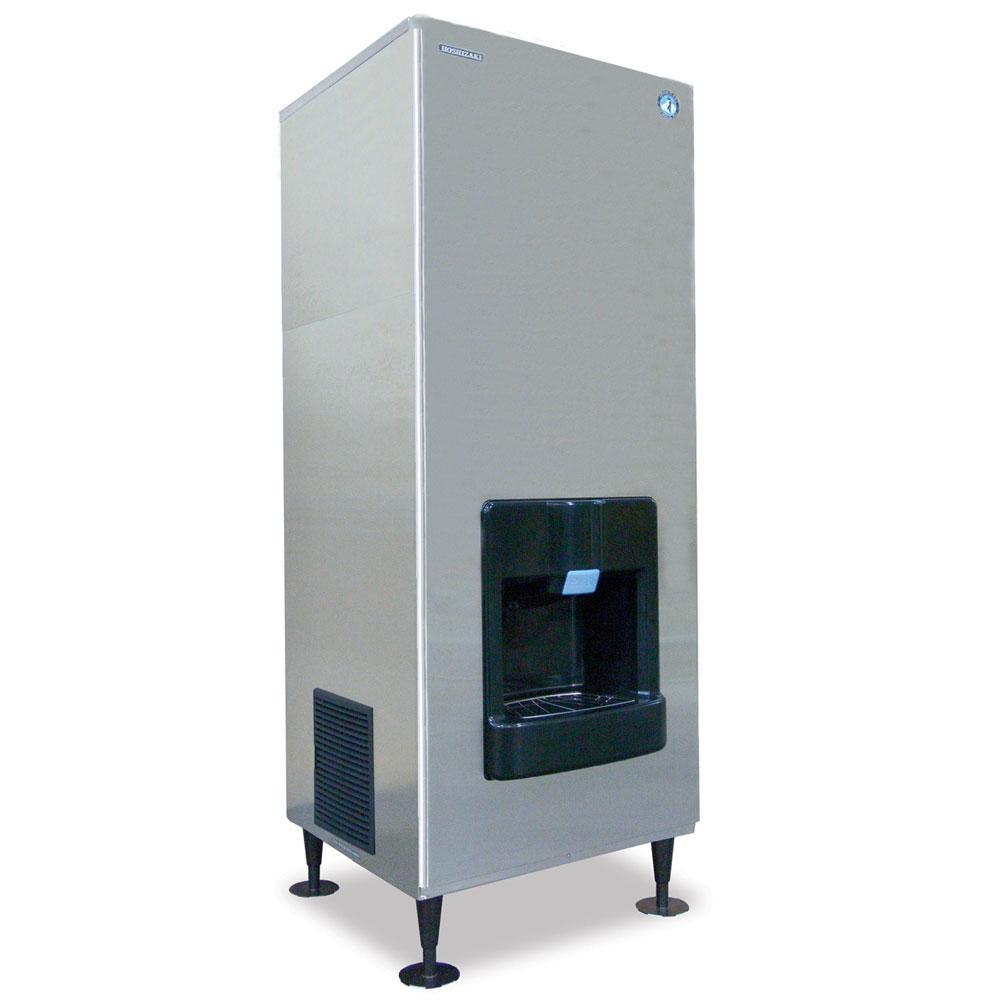 Hoshizaki DKM-500BAJ Floor Model Crescent Cube Ice Dispenser w/ 140-lb Storage - Bucket Fill, 115v