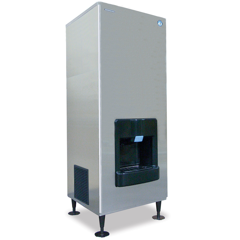 Hoshizaki DKM-500BWH Floor Model Cube Ice Dispenser w/ 200-lb Storage - Cup Fill, 115v