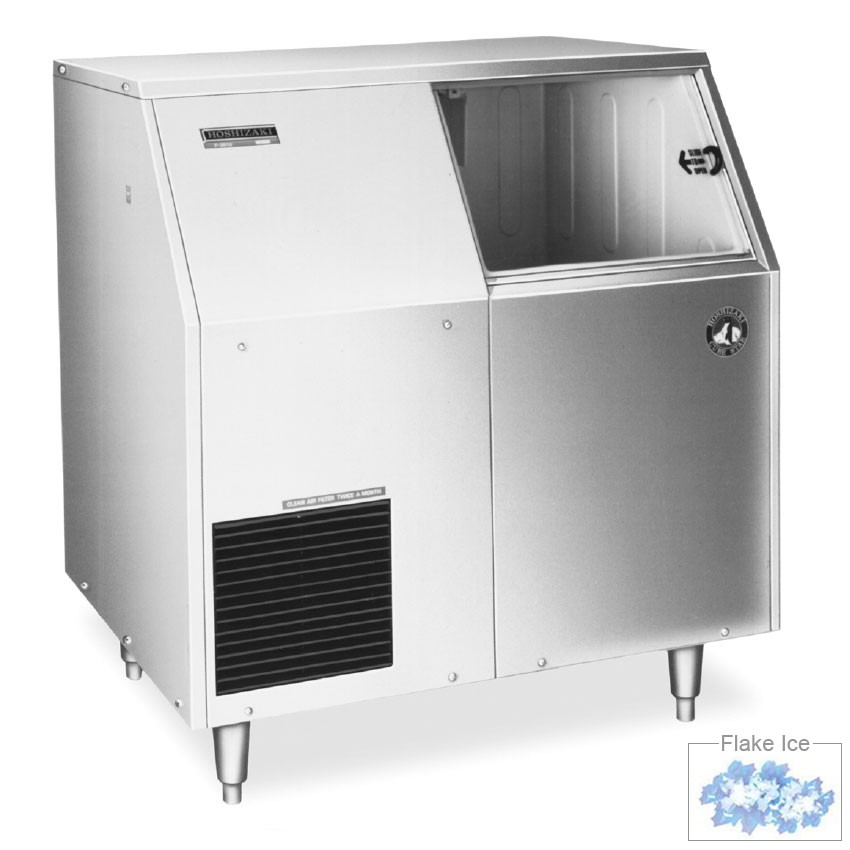 Hoshizaki F-300BAF Undercounter Flake Ice Maker - 303-lbs/day, Air Cooled, 115v