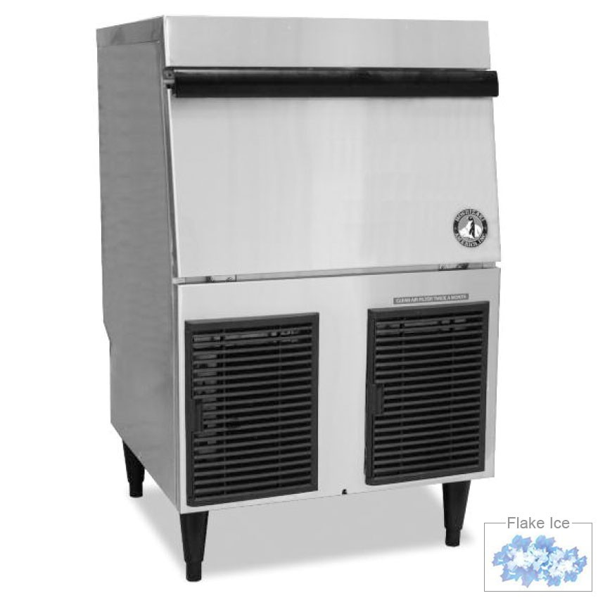 Hoshizaki F-330BAH Undercounter Flake Ice Maker - 330-lbs/day, Air Cooled, 115v