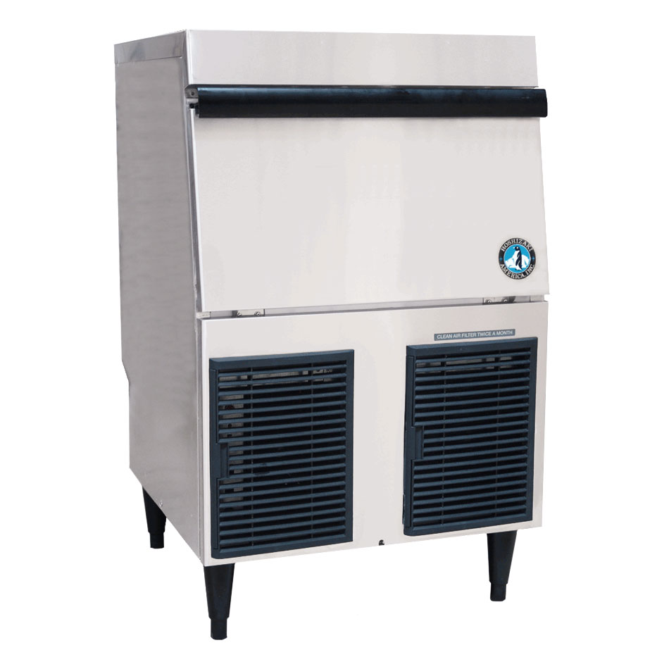 Hoshizaki F-330BAJ-C 288-lb/Day Nugget Ice Maker w/ 80-lb Bin - Air Cooled, 115v
