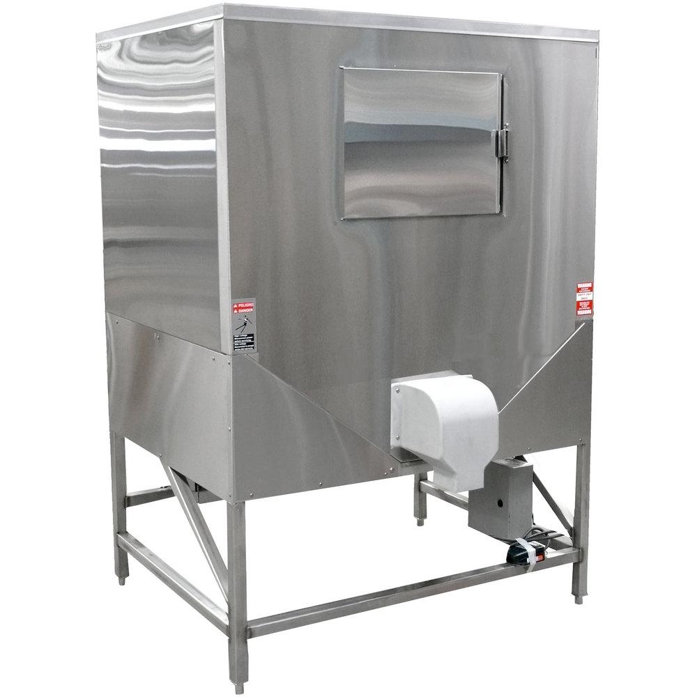 Hoshizaki HCD-1000B Ice Bagging System w/ 1078-lb Storage - Stainless, 115v