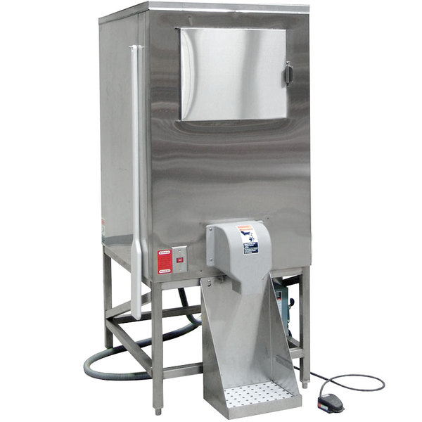 Hoshizaki HCD-500B Ice Bagging System w/ 647-lb Storage - Stainless, 115v