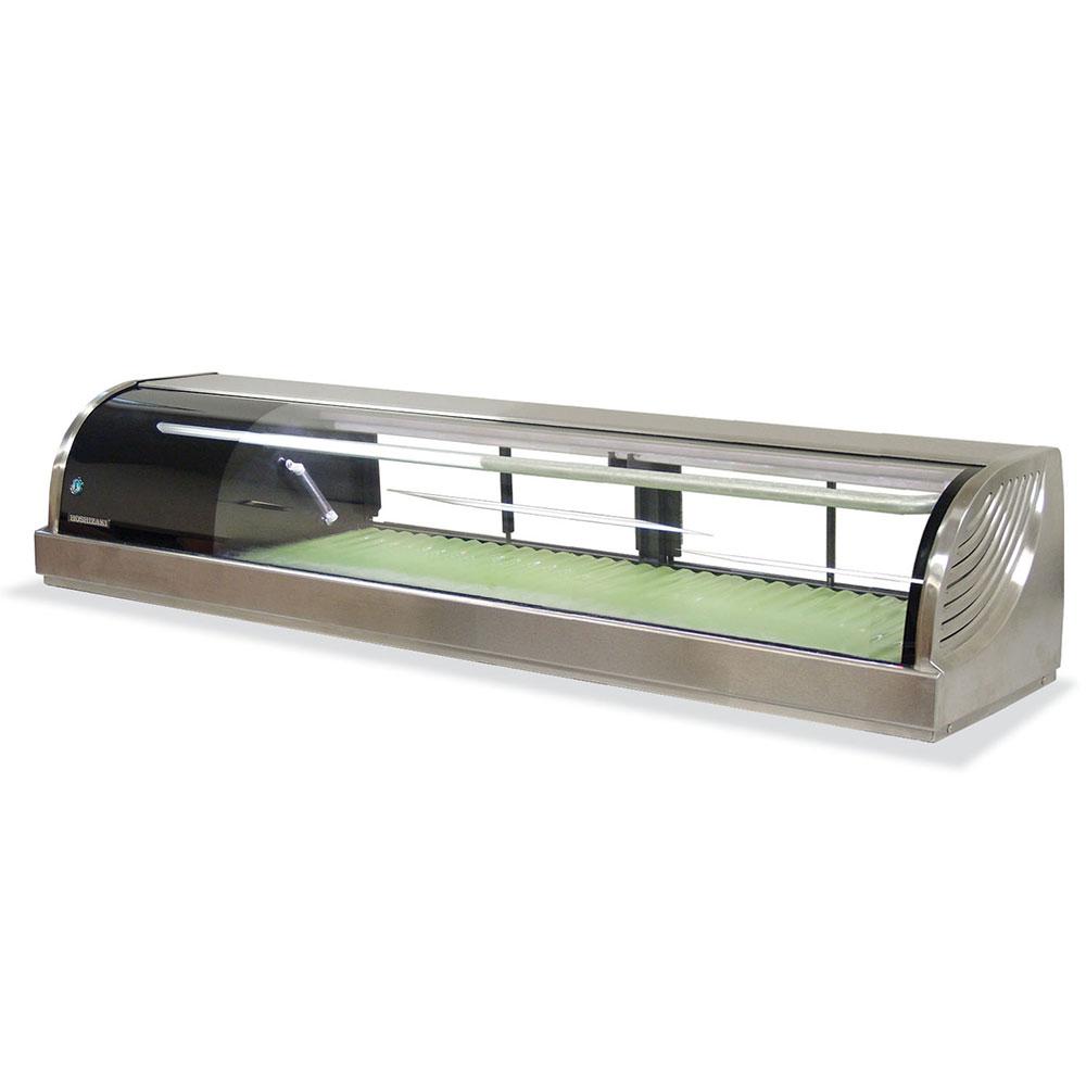 """Hoshizaki HNC-150BA-L-S 60"""" Sushi Case w/ (4) Doors - Left Compressor, 115v"""