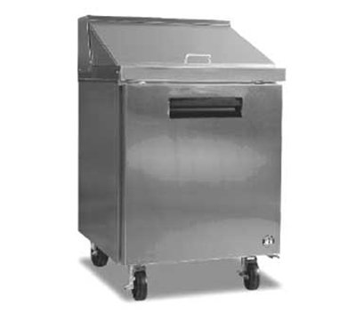 "Hoshizaki CRMR27-12M 27"" Sandwich/Salad Prep Table w/ Refrigerated Base, 115v"