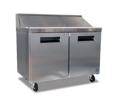 "Hoshizaki CRMR48-12 48"" Sandwich/Salad Prep Table w/ Refrigerated Base, 115v"