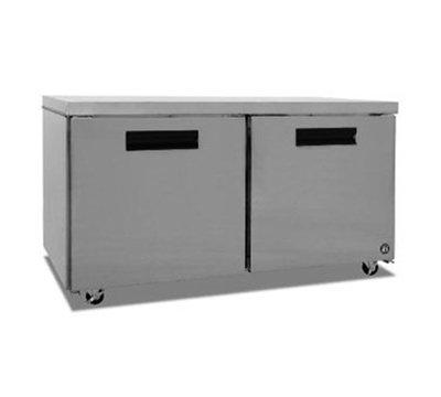 Hoshizaki CRMR60 17.55-cu ft Undercounter Refrigerator w/ (2) Sections & (2) Doors, 115v