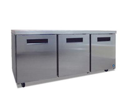 Hoshizaki CRMR72 21.25-cu ft Undercounter Refrigerator w/ (3) Sections & (3) Doors, 115v