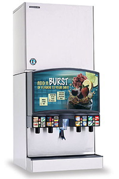 Hoshizaki KMD-850MWH Ice Maker Crescent Style 836-lb Per Day Water Cooled 208-230/1 V Restaurant Supply
