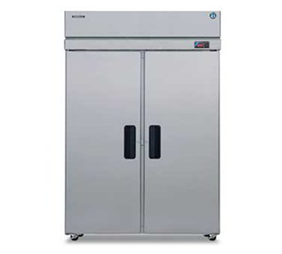 "Hoshizaki RH2-SSE-FS 55"" Two Section Reach-In Refrigerator, (2) Solid Door, 115v"