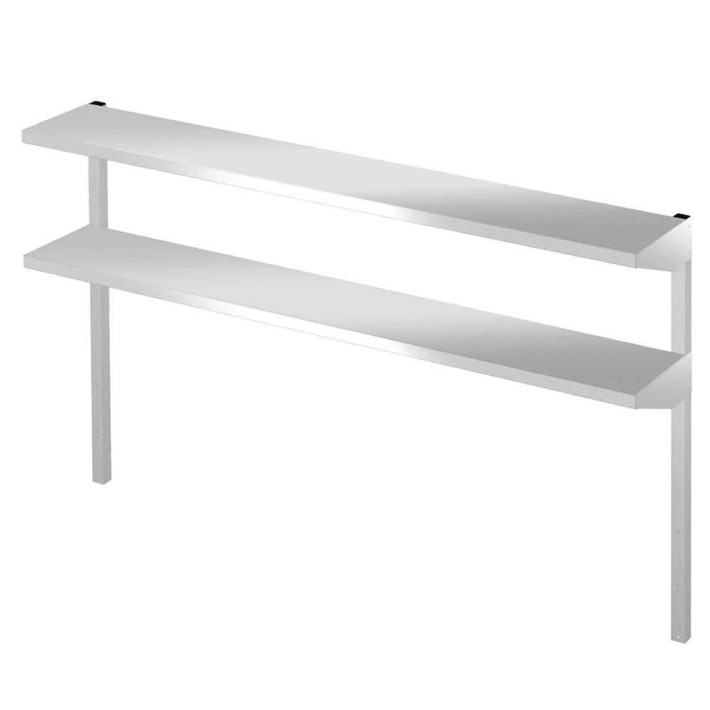 "Hoshizaki HS-5166 Double Overshelf for 72"" Undercounter, Worktop, & Prep Table Refrigerators, Stainless"