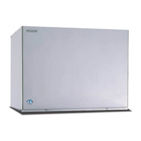 "Hoshizaki KM-2500SWH3 48"" Cube Ice Machine Head - 2429-lb/24-hr, Water Cooled, 208-230v/1ph"