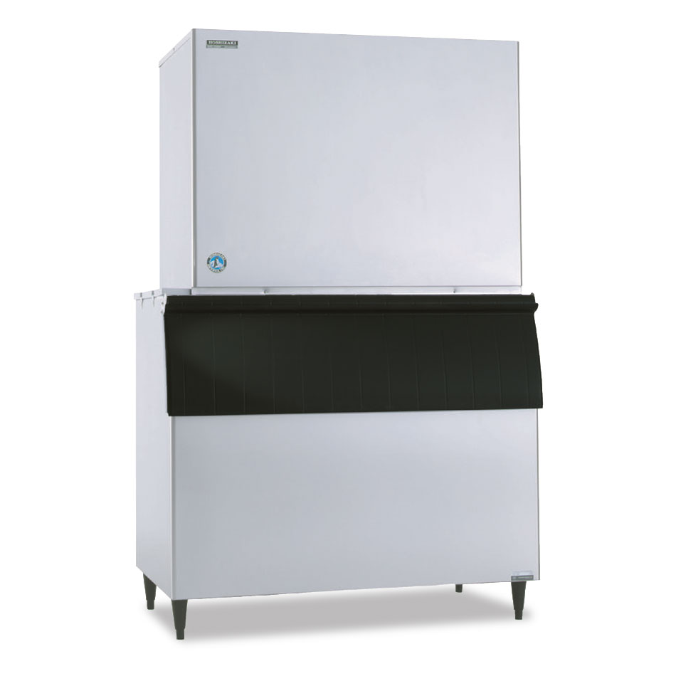 "Hoshizaki KM-2600SWJ3 48"" Cube Ice Machine Head - 2482-lb/24-hr, Water Cooled, 208-230v/3ph"