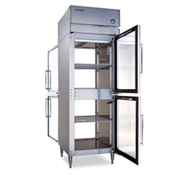 "Hoshizaki PTR1SSE-HGHG 28"" Single Section Pass-Thru Refrigerator, (2) Glass Door, 115v"