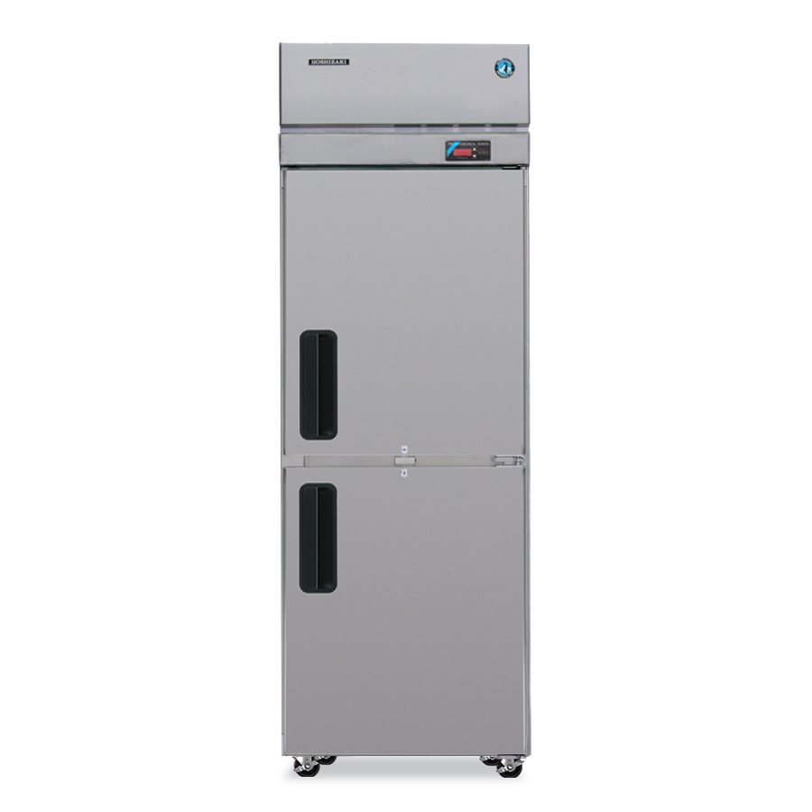 "Hoshizaki PTR1SSE-HSHS 28"" Single Section Pass-Thru Refrigerator, (2) Solid Door, 115v"
