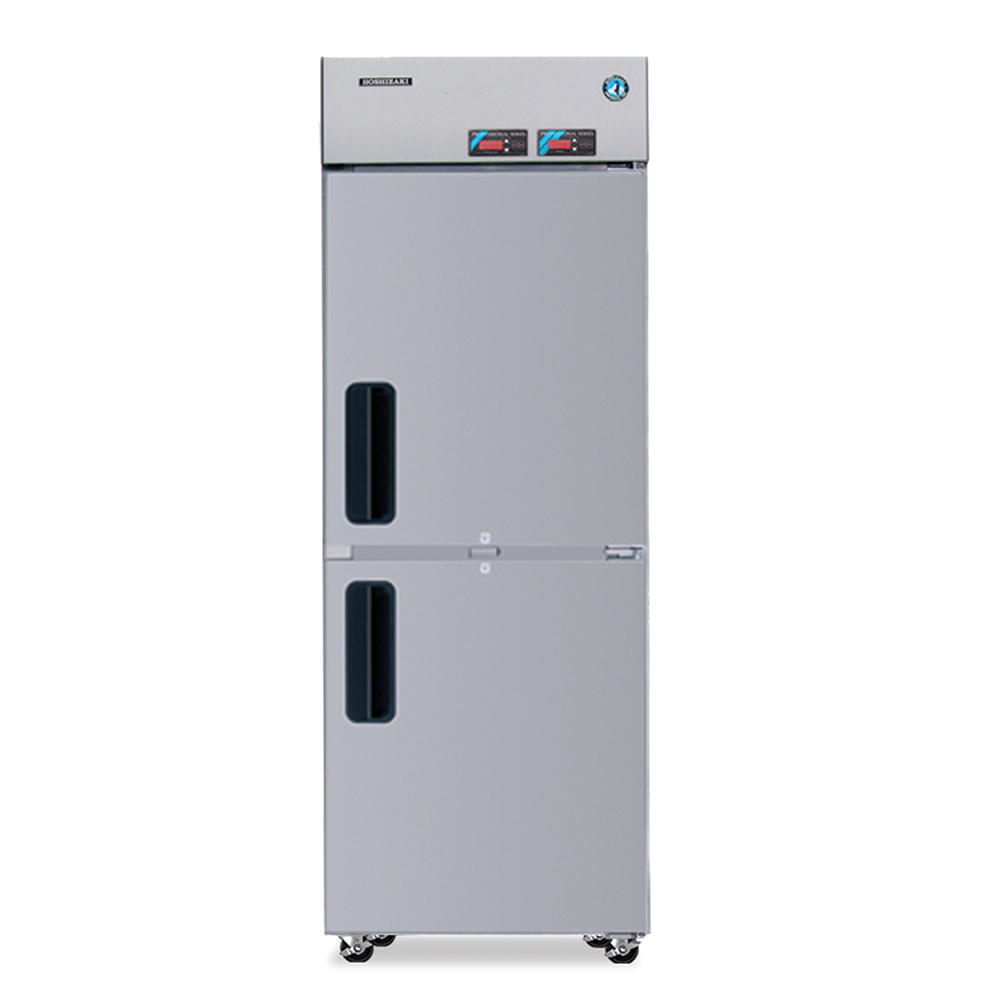 "Hoshizaki RFH1-SSB-HSE 28"" One Section Commercial Refrigerator Freezer - Solid Doors, Top Compressor, 115v"