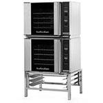 Moffat E31D4/2 Half Size Electric Convection Oven - 208v/1ph