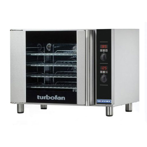 Moffat E31D4 Half Size Electric Convection Oven - 208v/1ph