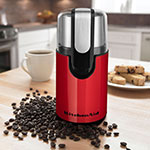 KitchenAid BCG111ER Blade Coffee Grinder w/ Removable Stainless Bowl, Empire Red