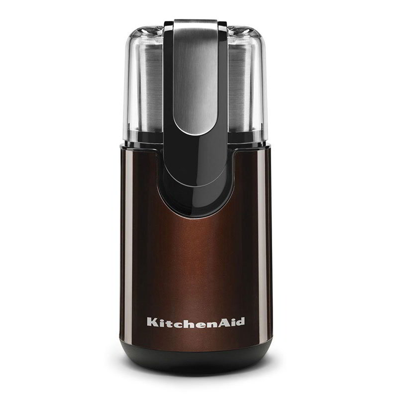 KitchenAid BCG111ES Blade Coffee Grinder w/ Removable Stainless Bowl, Espresso